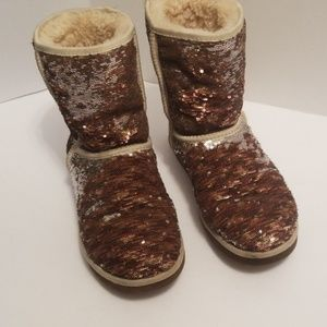 UGG sequin two colors boots